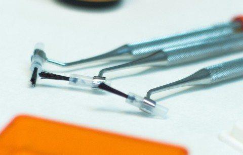 Ästhetische Zahnreinigung